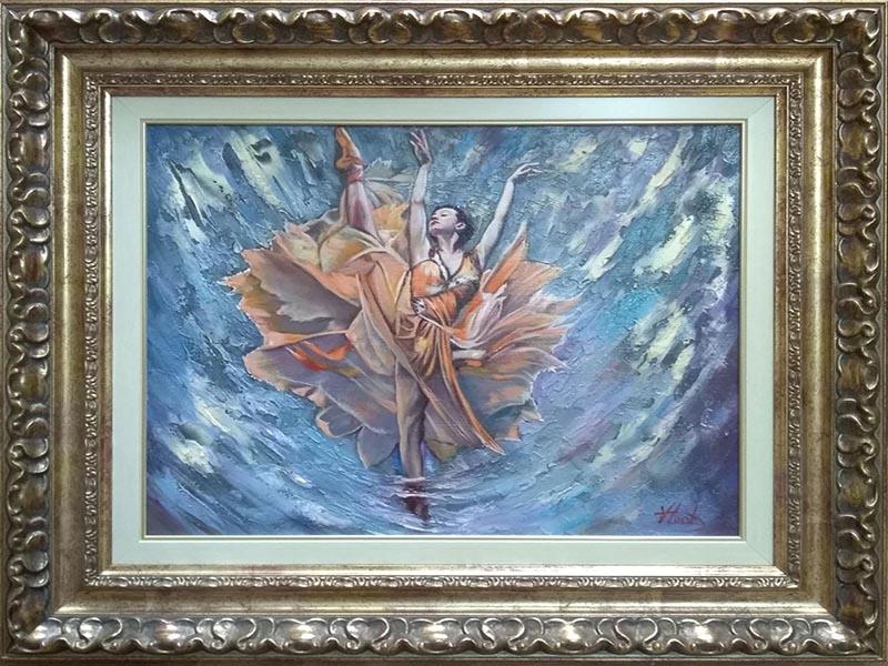 Inramari tablouri Oradea - Pictura inramata 9